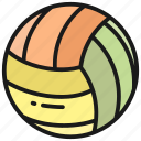 volley ball, ball, sport, game, play, football, sports
