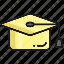 graduation, hat, cap, education, university, knowledge
