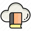 cloud, library, book, education, learning, study