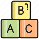 alphabet, blocks, letters, abc, letter, english