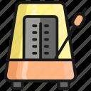 metronome, music, sound, audio, media, volume