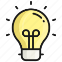 idea, bulb, light, creative, creativity, energy, innovation