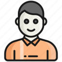 student, user, avatar, profile, man, person, people