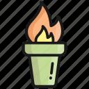 torch, light, flashlight, lamp, flame, fire, hot
