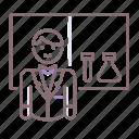 laboratory, male, teacher