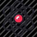 atom, chemistry, education, lab, molecule, school, science icon