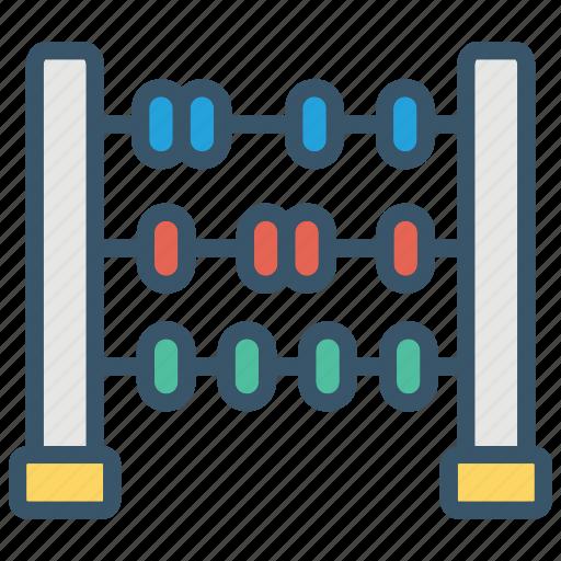 abacus, education, learn, math, mathematic, school icon