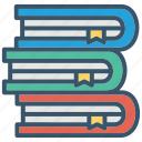 book, books, education, school, stack icon