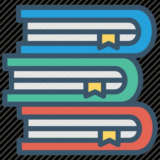 book, books, education, school, stack icon