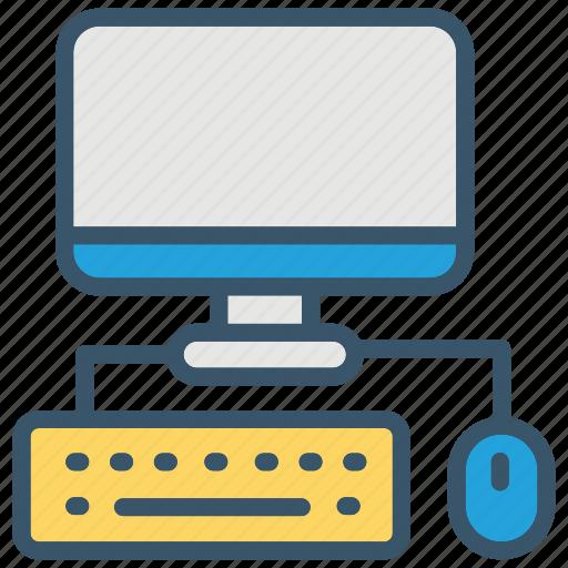 computer, desktop, education, pc, school icon
