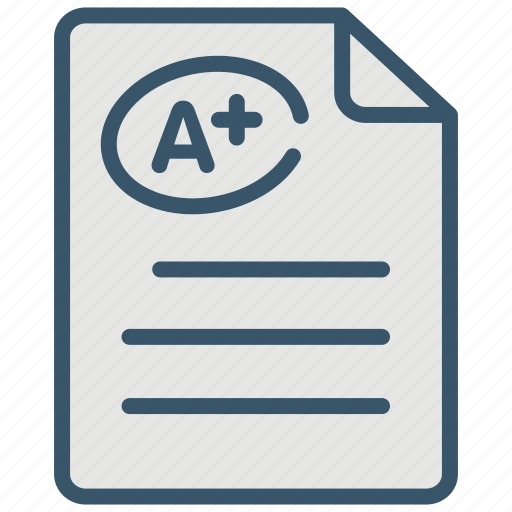 Education, exam, learn, mark, school, study icon - Download on Iconfinder