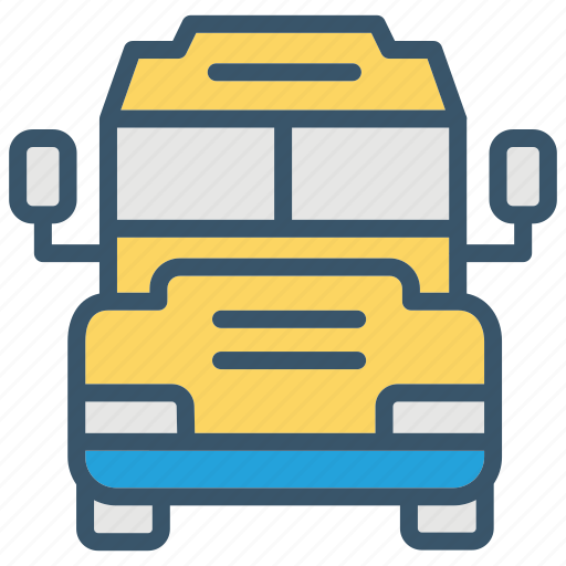 bus, education, school, transport, transportation, vehicle icon