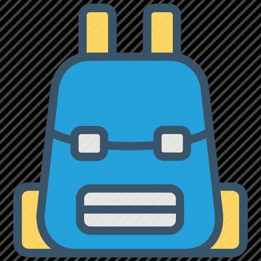 backpack, bag, education, school, schoolbag icon