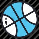 ball, basket, basketball, play, school, sport, sports icon