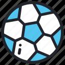 ball, football, game, play, school, soccer, sport