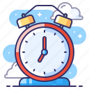 alarm, clock, waker