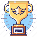 achievement, award, champion, trophy icon