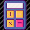business, calculator, math