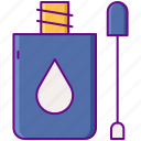 correction, fluid, stationery icon