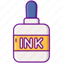 ink, pen, write