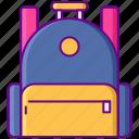 bag, education, school icon
