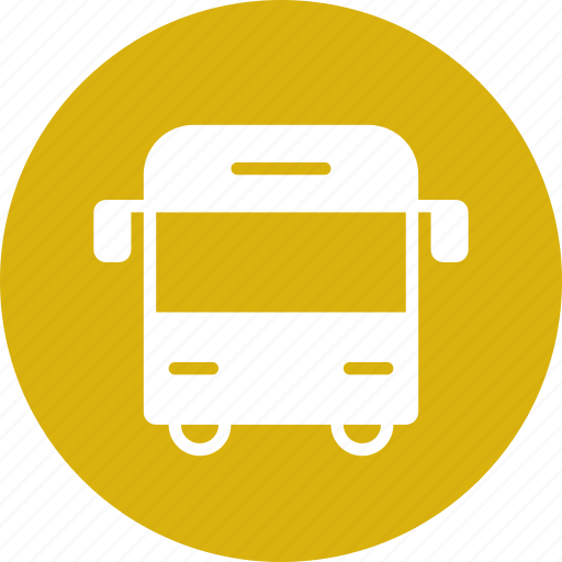 bus, education, school, transportation, vehicle icon