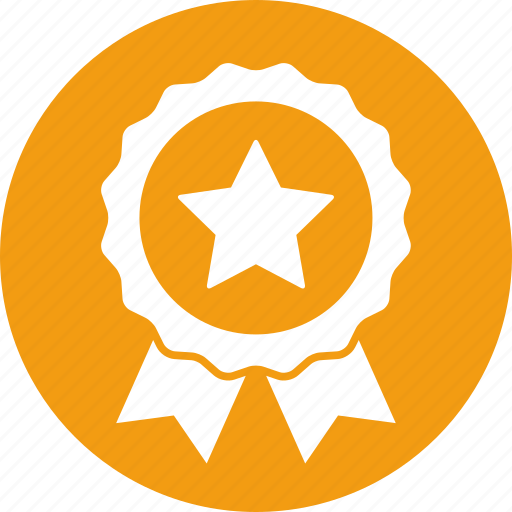 award, badge, education, excellence, star icon