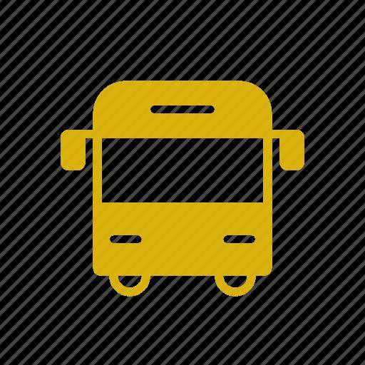 bus, education, school, transportation, vehicle icon