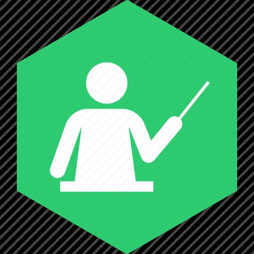 education, learn, school, study, teacher, teaching icon