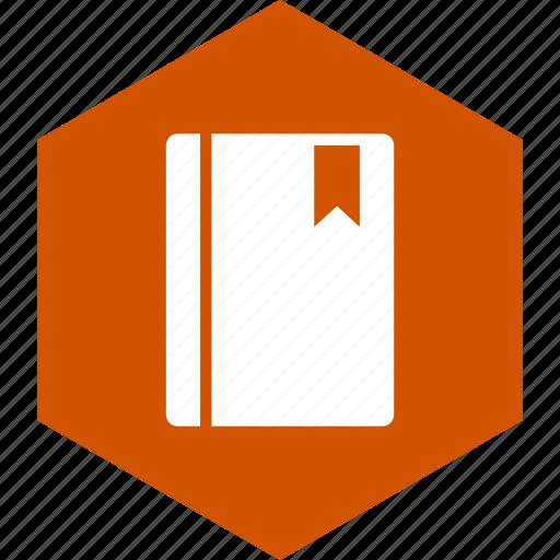 book, bookmark, learn, literature, school, study, subject icon