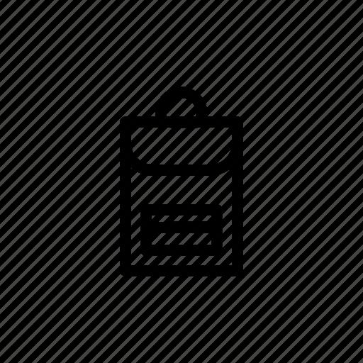 backpack, haversack, knapsack, rucksack, satchel, travel icon