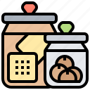 canister, containers, food, kitchen, snack icon