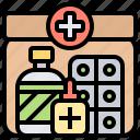 aid, emergency, first, injury, kit