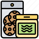 container, food, grocery, packed, supply icon