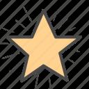 badge, star, win icon