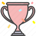 achievement, award, medal, trophy icon