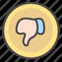 negative, poor icon