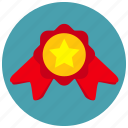 award, medal, reward, vote icon