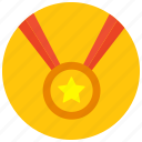 award, medal, prize, reward icon