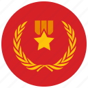 award, medal, reward, star