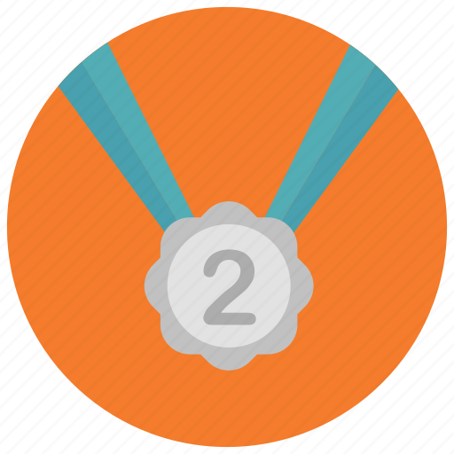 Award, medal, place, reward, second icon - Download on Iconfinder