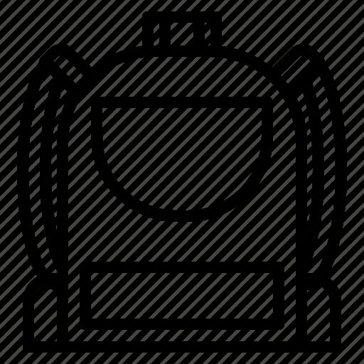 backpack, bag, buy, money, school, shopping, student icon