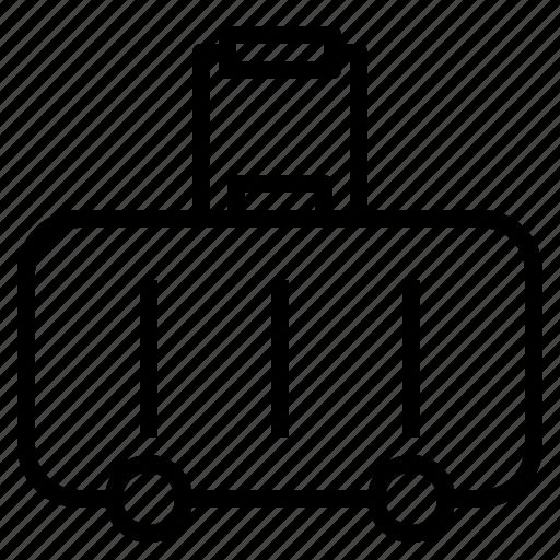 buy, cash, fashion, luggage, money, shopping, travel icon