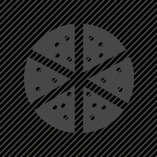 food, pizza, slice, snack icon