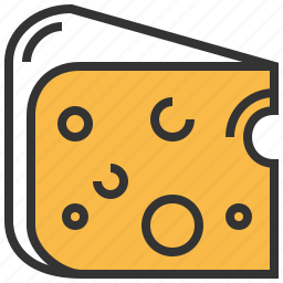 bakery, cheese, food icon