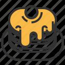 pancake, sweet, syrup icon