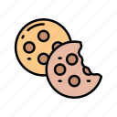 baker, bakery, cookies, gift, restaurant, sweets icon