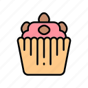 bakery, cake, chocolate, cupcake, sweets icon
