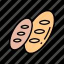 baker, bakery, bread icon