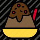 bingsu, candy, egg, flour, lollipop, milk, sweet icon